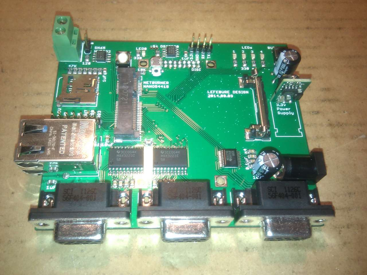 viewing a thread building a circuit board  with pictures Electrical Circuit Building with LED Make Your Own Circuit Board